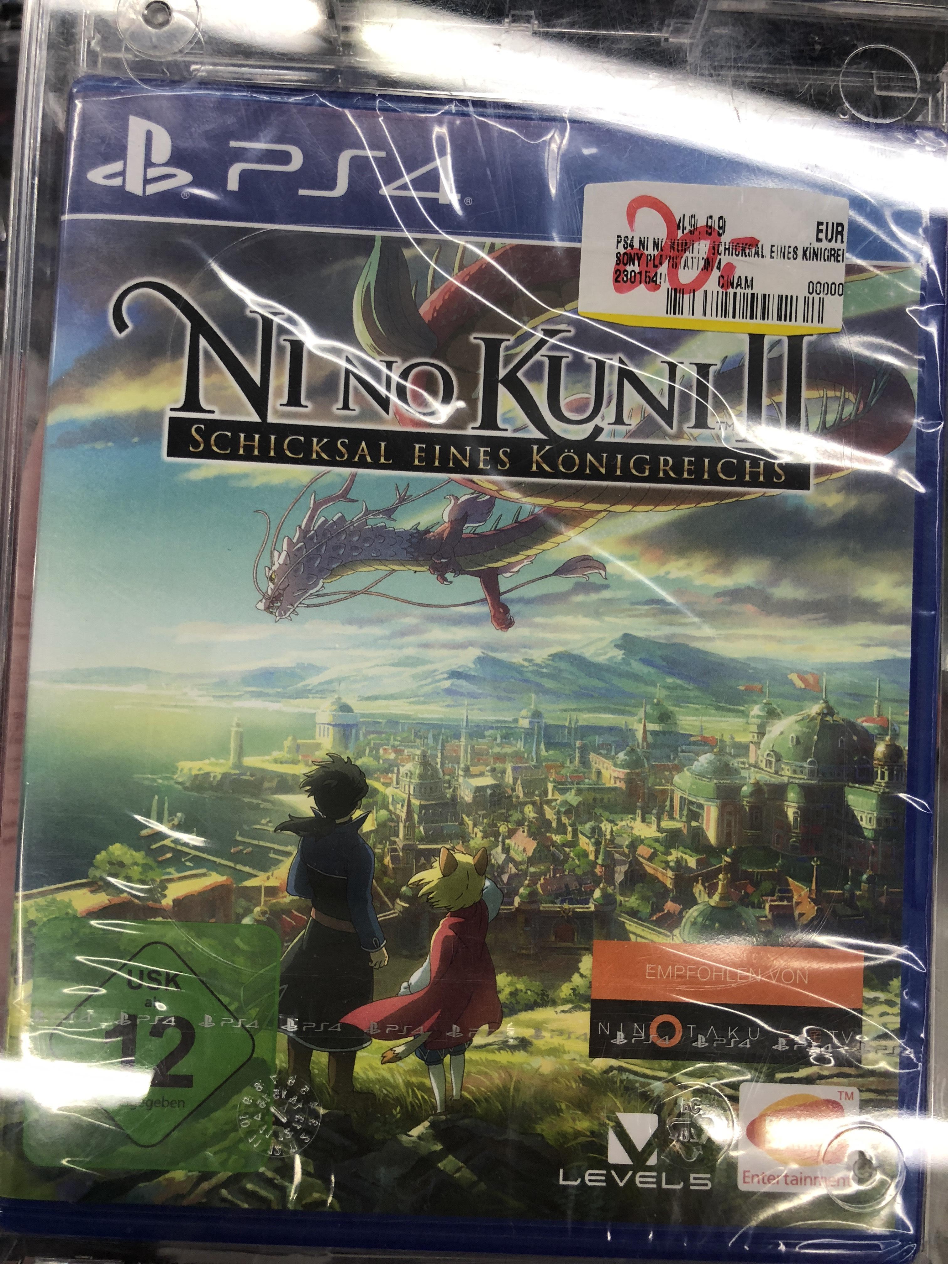 Ni No Kuni 2: Schicksal eines Königreichs PS4 für 20€ / Media Markt Duisburg Großenbaum/LOKAL