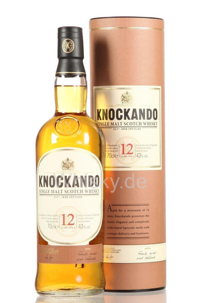 2 Flaschen Knockando Single Malt Whisky 12 Jahre 43% Vol. für 34,98€ [Real]