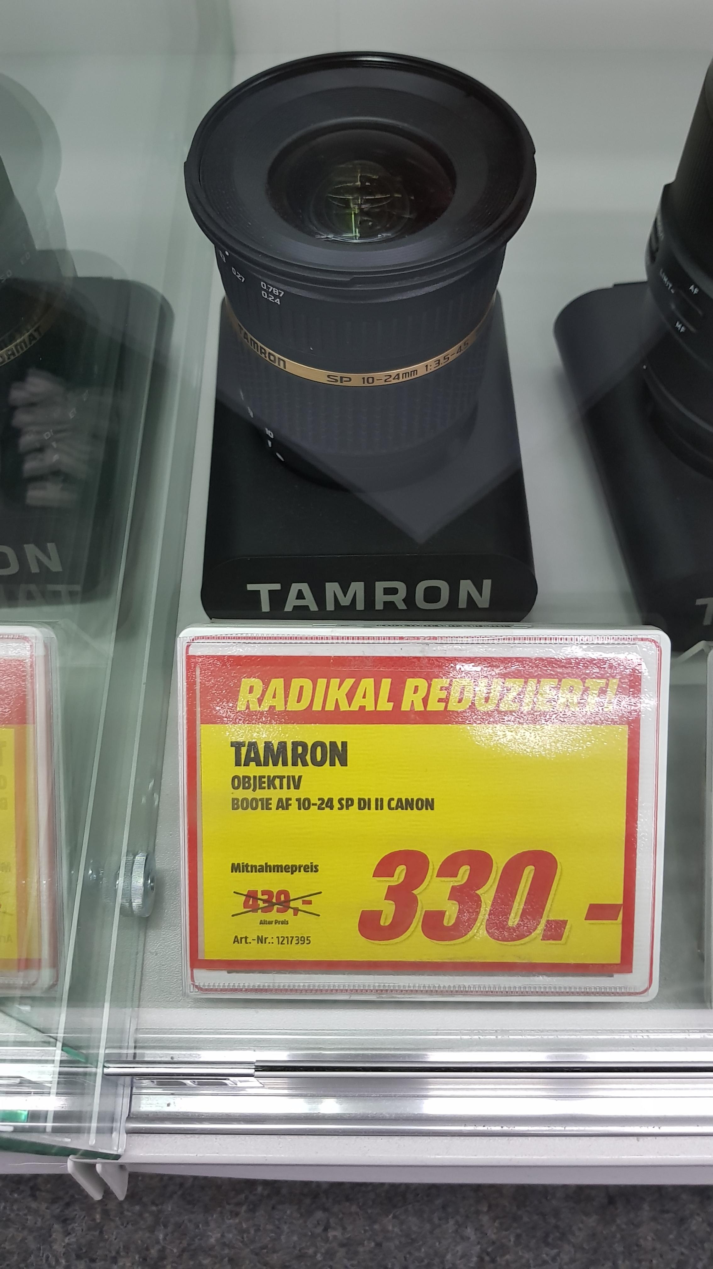 [Lokal MM Dresden?] Tamron SP AF 10-24mm f3.5-4.5 Di II Objektiv