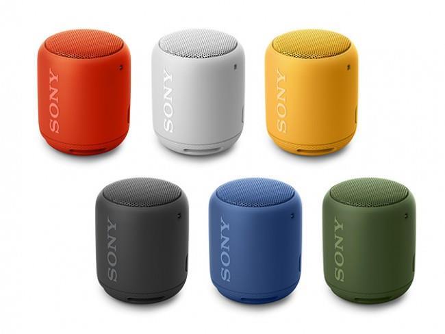 Sony SRS-XB10 Tragbarer, kabelloser Lautsprecher (Bluetooth, NFC, Extra Bass, Waaserabweisend, 16 Stunden Akkulaufzeit) alle farben für je 24€ versandkostenfrei (Media Markt & Amazon Prime)