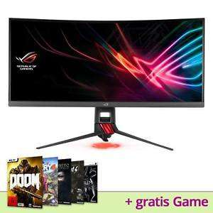 "ASUS ROG STRIX XG35VQ, 35"" Zoll + 3 J. ASUS Garantie + Inkl. gratis PC Game Deiner Wahl"