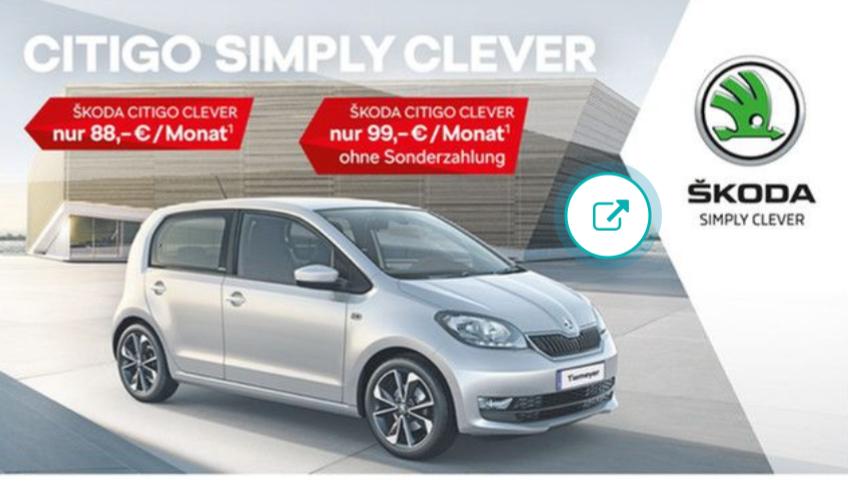 SKODA CITIGO CLEVER 1.0 MPI 44 kW (60 PS)*