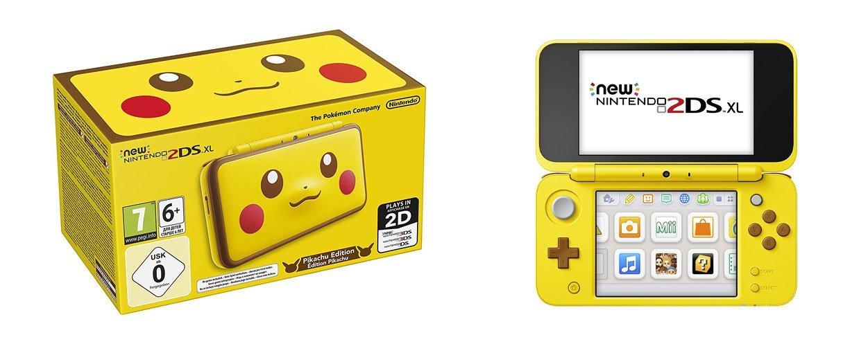 New Nintendo 2DS XL Pikachu Edition für 122€ & eBay Plus für 107€ versandkostenfrei (Media Markt)