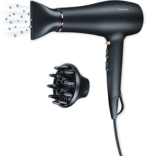 [Amazon] Beurer HC 50 Ionen Haartrockner mit Stylingdüse und Volumendiffusor 2200 Watt
