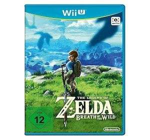 Wii U - The Legend of Zelda, Breath of the Wild & Wii U - Paper Mario Color Splash für jeweils 7,95€