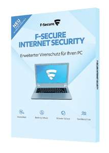 F-Secure Internet Security 3 Geräte 1 Jahr (Version 2018) Box