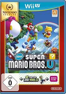 Super Mario Bros. U + New Super Luigi U (Wii U) für 18€ versandkostenfrei (Amazon Prime & Media Markt)