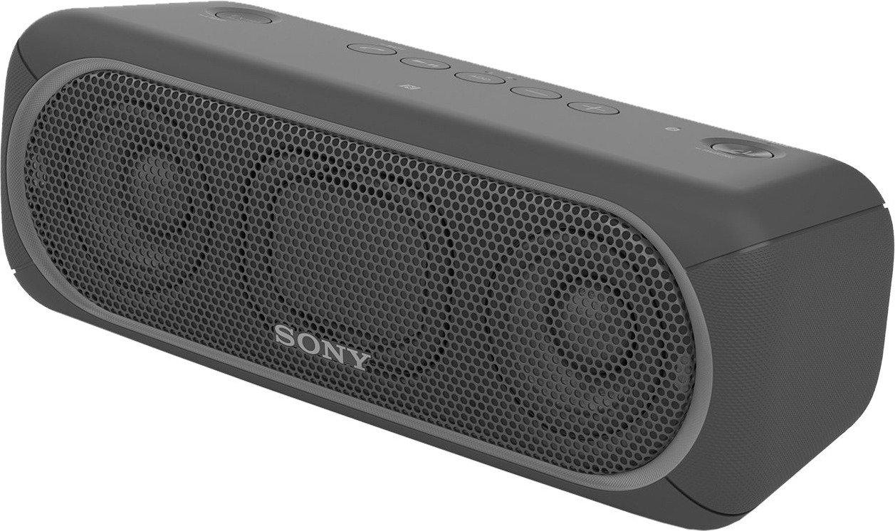 Sony SRS-XB30 Tragbarer, kabelloser Lautsprecher (Farbige Lichtleiste,Extra Bass,Bluetooth,NFC,Wasserabweisend (Schwarz & Grün & Rot) für je 77€ versandkostenfrei (Media Markt)
