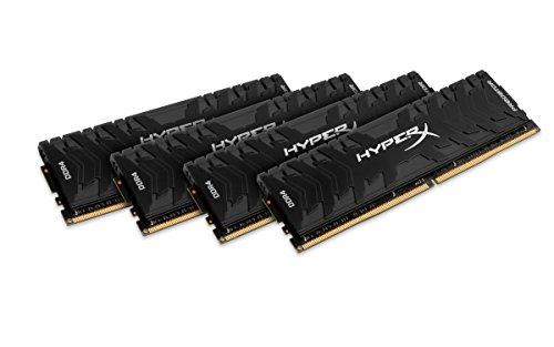 Arbeitsspeicher Kingston HyperX Predator DIMM Kit 32GB, DDR4-3333, CL16-18-18 (HX433C16PB3K4/32), weitere Ersparnis möglich