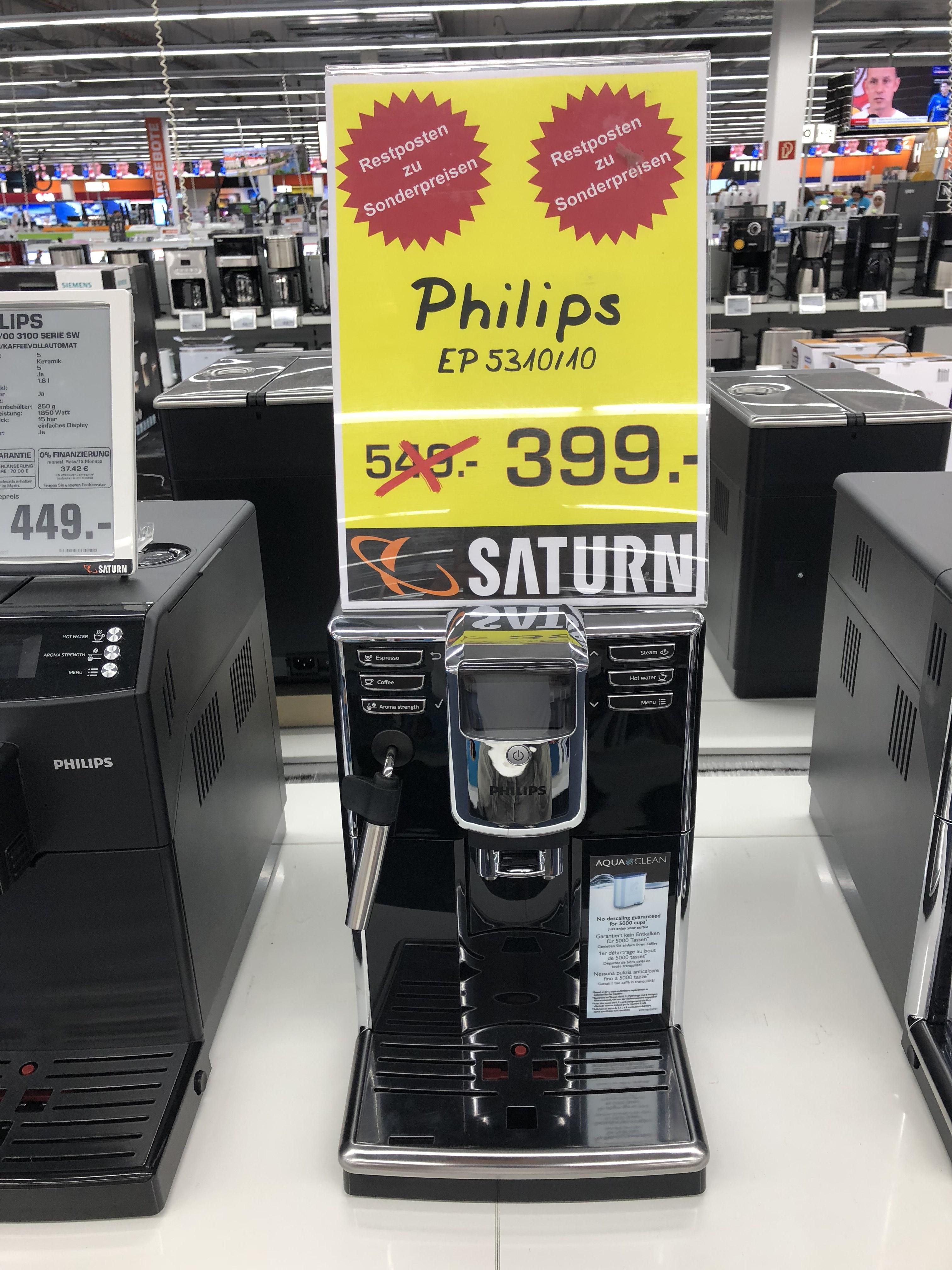 Philips EP 5310/10 Kaffeevollautomat im Saturn Markt Dortmund Eving