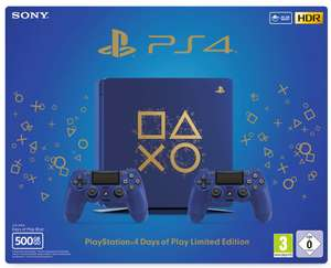 [real Online] Sony PlayStation 4 500 GB Days of Play Limited Edition B-Ware