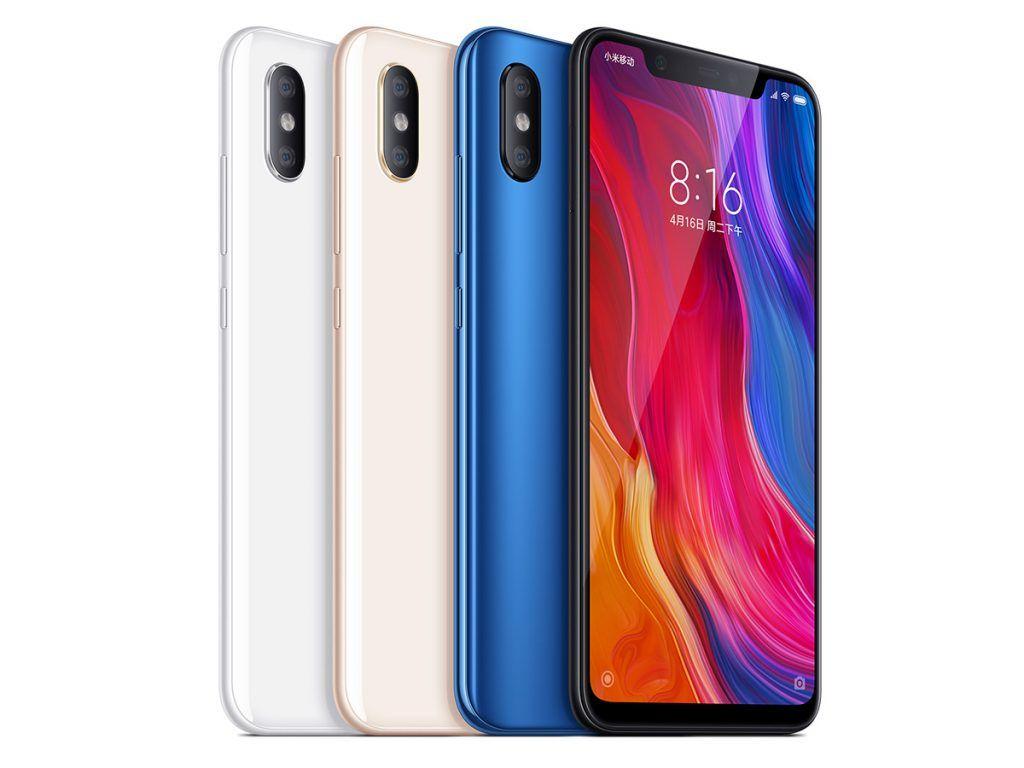 Xiaomi Mi 8 64/6GB | Global ROM mit Band 20 für 332,72€ inkl. Priority Versand