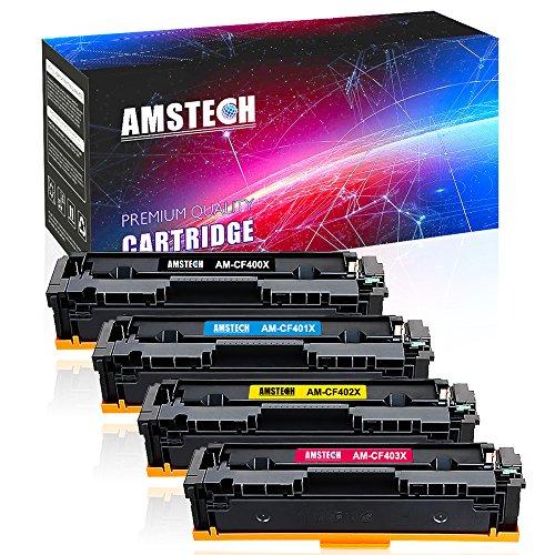 Toner HP 201X 201A CF400A CF401A CF402A CF403A z.B. für HP Laserjet M277dw
