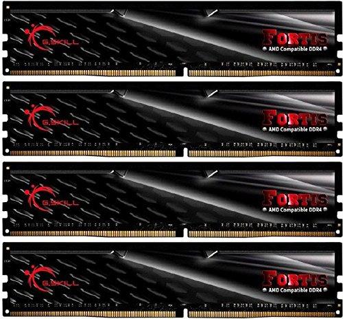 Arbeitsspeicher G.Skill Fortis DIMM Kit 32GB (4x8GB), DDR4-2400, CL16-16-16-39 (F4-2400C16Q-32GFT), weitere Ersparnis möglich
