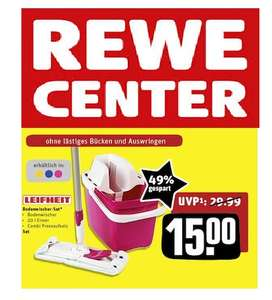 (offline) Rewe-Center: Leifheit Combi Clean Bodenreinigungs-Set