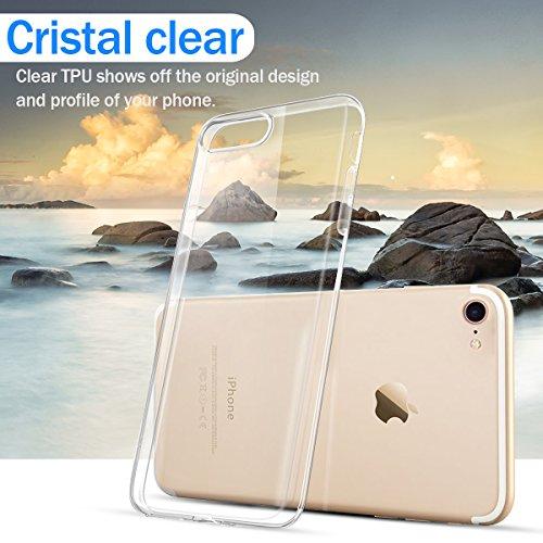 iPhone 7/iPhone 8 Handyhülle + iPhone X Handyhülle + 3 Stück Schutzfolie für iPhone X / Freebie