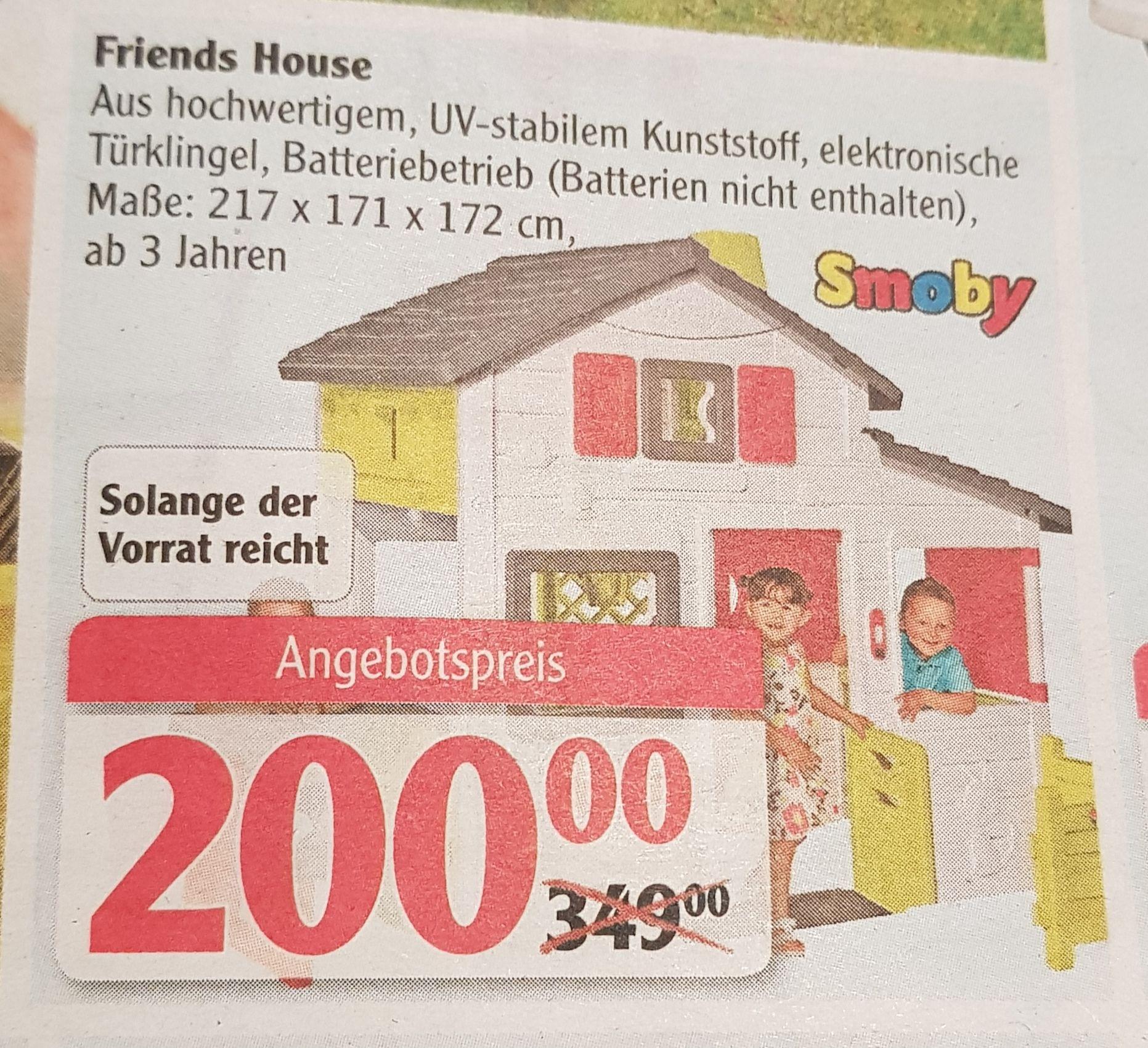 Smoby Friends House Globus (evtl Lokal Plattling)