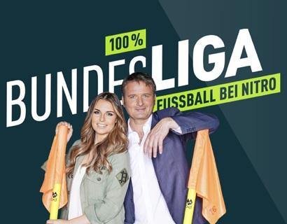 """GRATIS TV Live Sendung """"100% Bundesliga - Fussball bei Nitro"""" in Köln"""