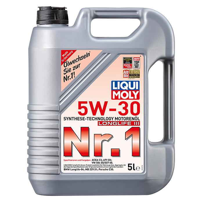 [Bauhaus] Liqui Moly Motorenöl Nr.1  5W-30 Longlife III 5 Liter für nur 29,03€ [Kaufland]