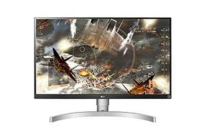 "UHD-Monitor: LG 27UK650-W (27"", 3840x2160, HDR10, AMD FreeSync 40-60Hz)"
