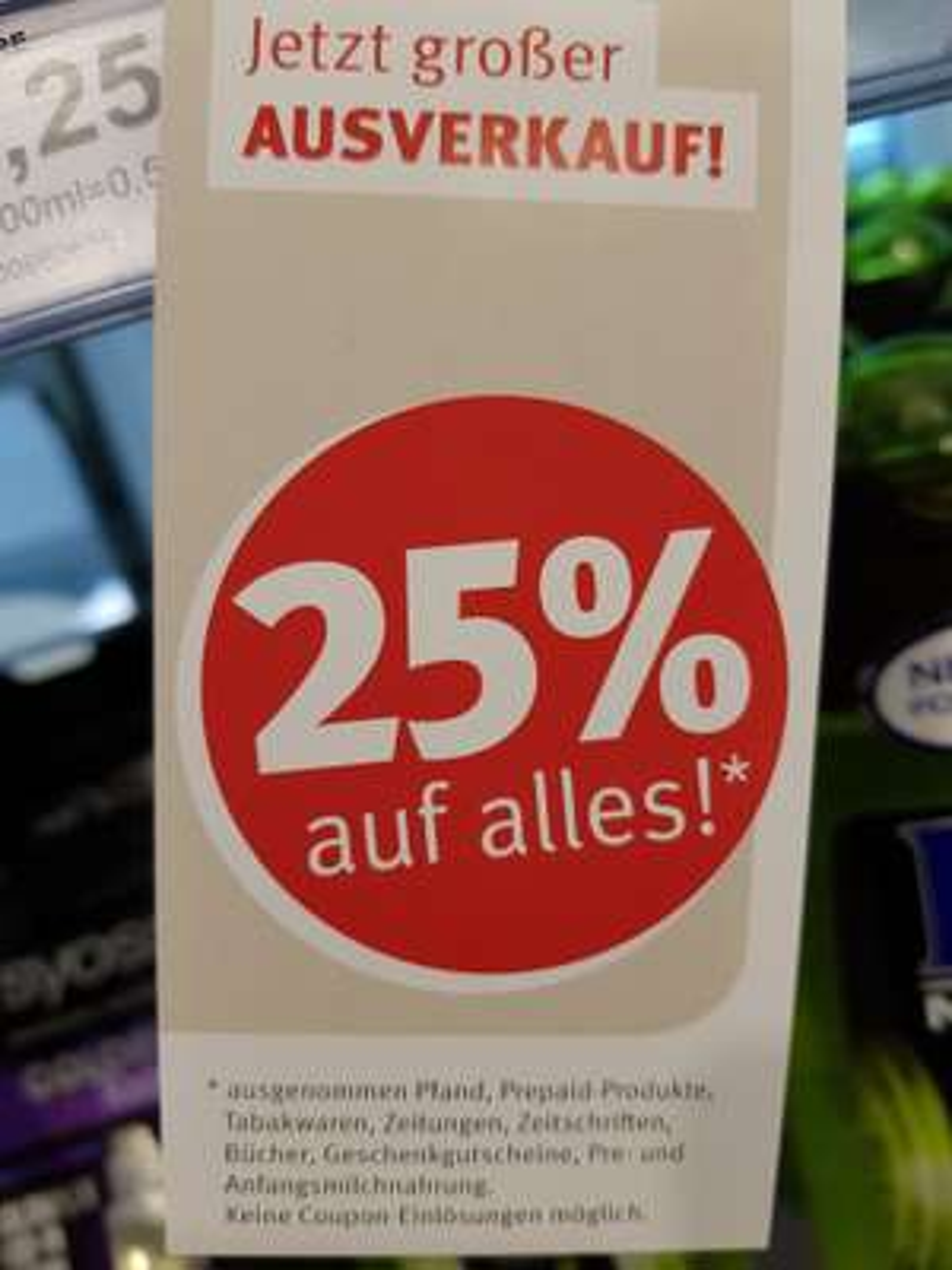 Rossmann-25% *lokal* Wandsbek Markt