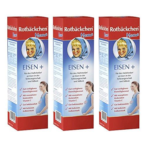 [Amazon Prime] 20% auf Rotbäckchen Mama Eisen + 3er Pack (3 x 450 ml)