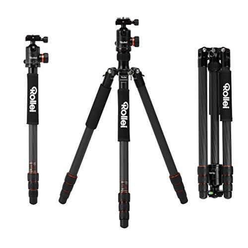 Amazon zieht mit (Vorbestellung) Rollei C6i Carbon Kamera Stativ mit Panorama-Kugelkopf