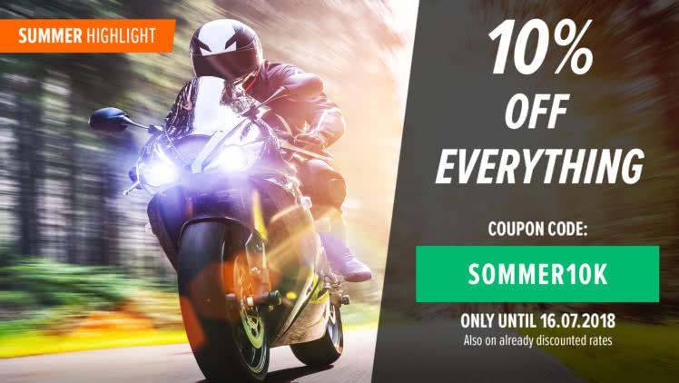 Motorraddeal :) 10% auf alles bei MOTEA