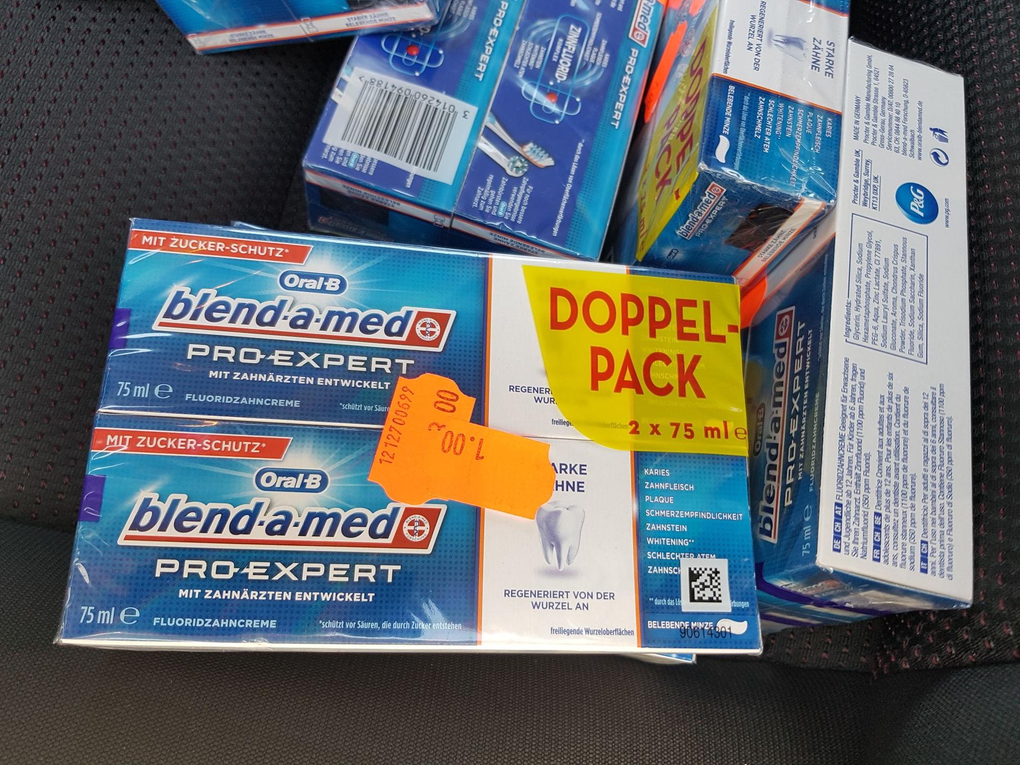 Oral-B Blend-a-Med Pro Expert im Doppelpack, lokal im Tedi Schmalkalden