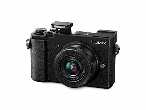 Panasonic Lumix GX9 (Klappsucher, Hybrid-Kontrast AF, 4K, Touch Screen) mit Objektiv 12-32 mm Systemkamera (20MP, Klap