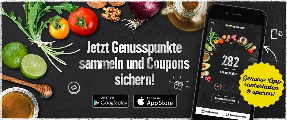 Edeka Genuss+ App - Gerolsteiner Mineralwasser gratis!