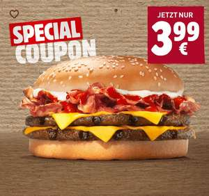 Burger King (APP) Bacon King wieder da