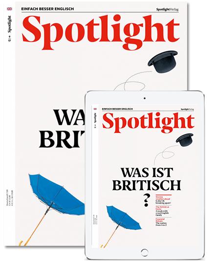 Spotlight - Sprachmagazin - aktuelle Ausgabe gratis testen - danach Abo !