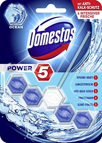 Domestos WC-Stein Power 5 Ocean 55 ml, 9er Pack und andere