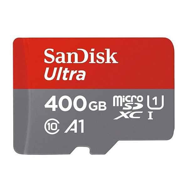 SanDisk microSDXC Ultra 400GB für 131,94€ inkl. Versand für Bestandskunden / für Neukunden sogar nur 104,69€ [Otto.de]