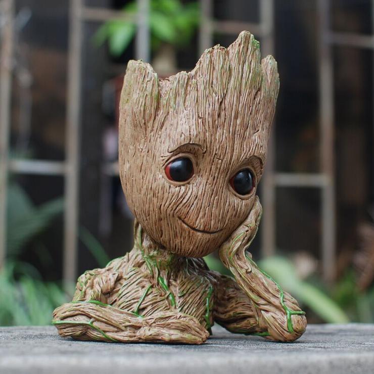 Baby Groot Blumentopf / Stiftehalter für 4,24 € (Zapals)
