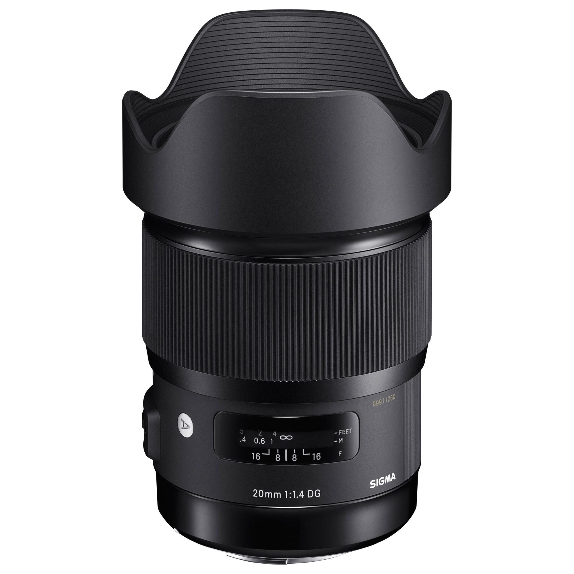 [amazon.it] Sigma 20mm F1,4 DG HSM Art Objektiv für Canon