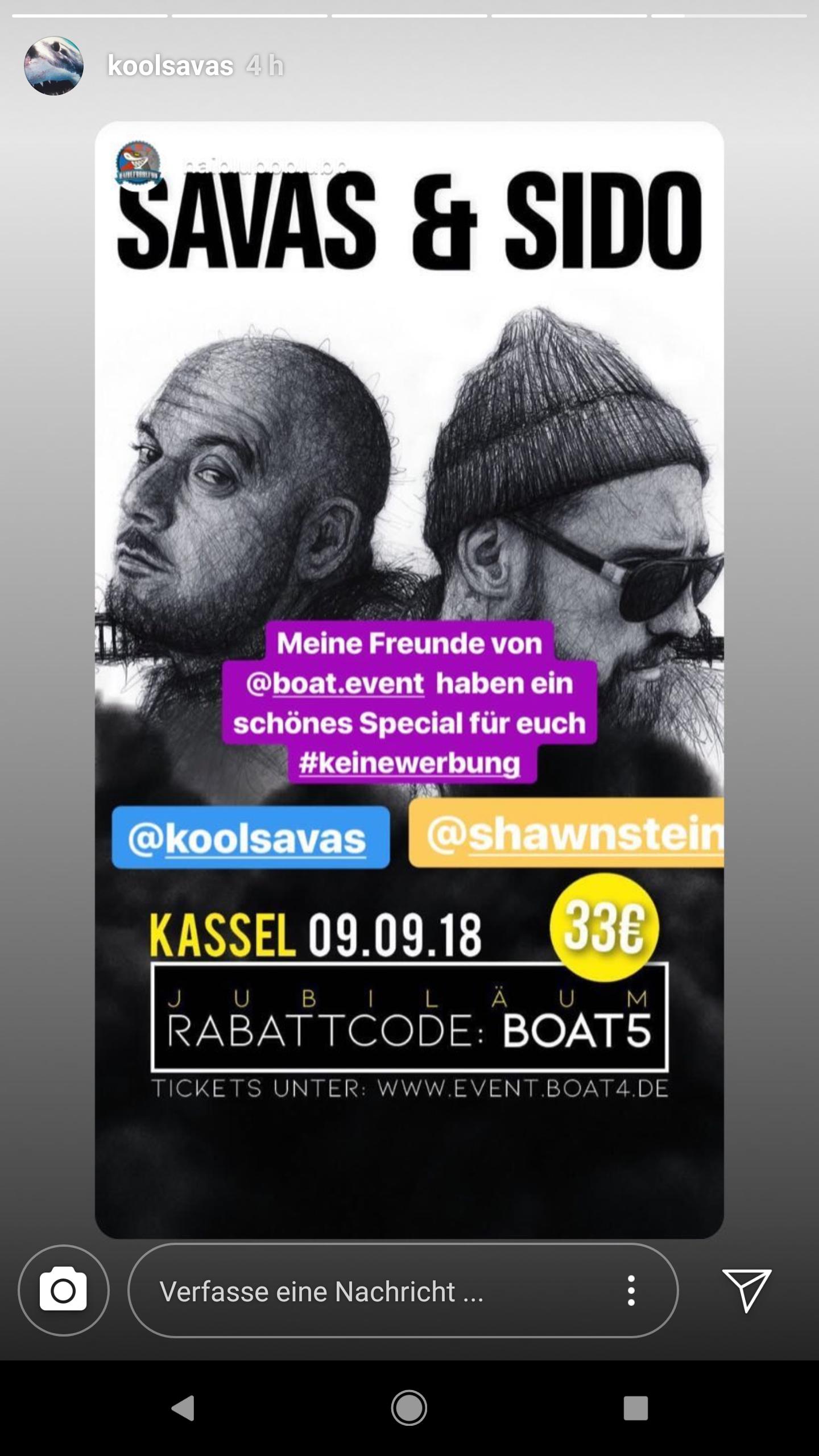 KoolSavas Sido Konzert in Kassel