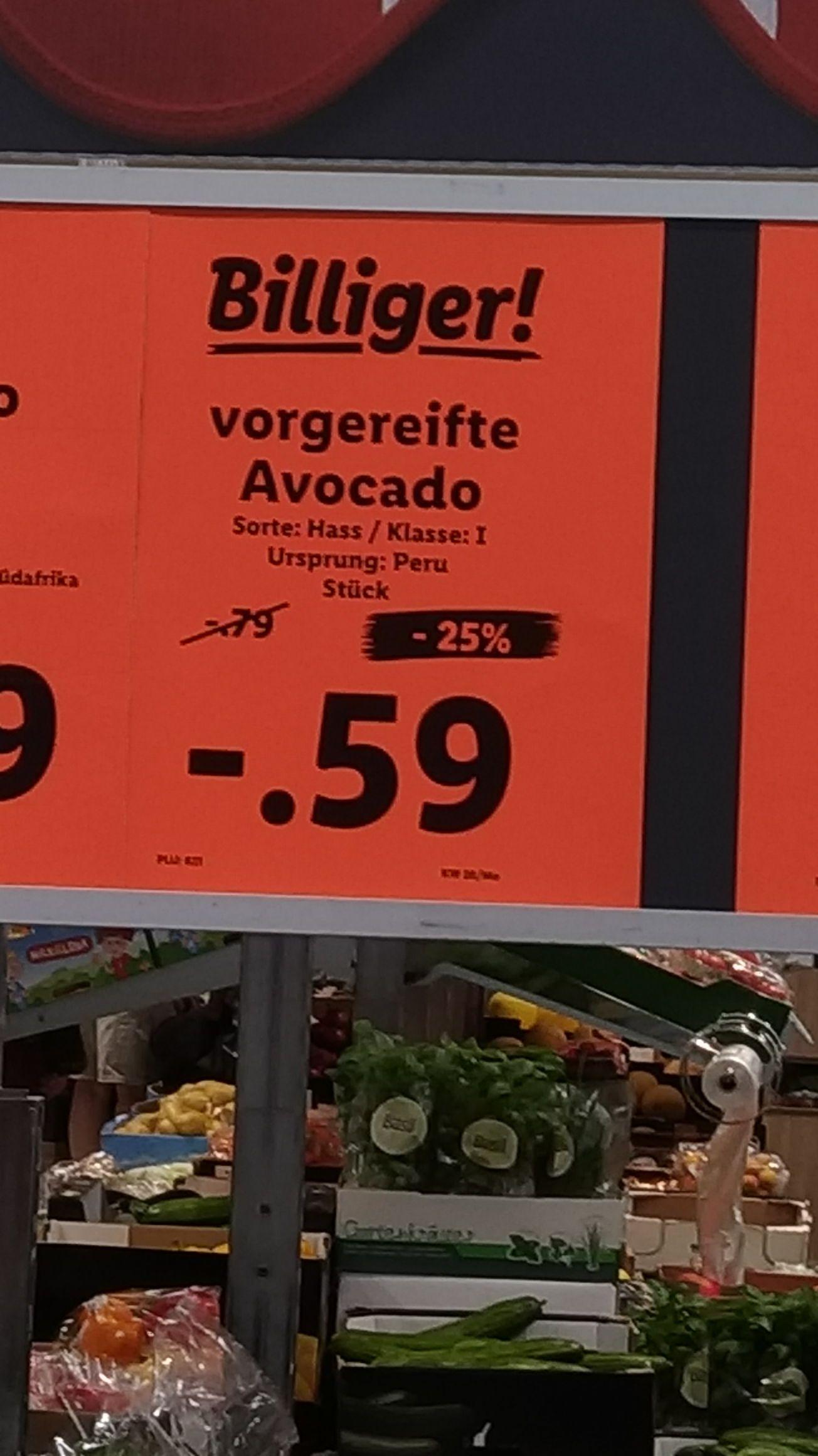 [lokal? Lidl Köln] Avocado nur 59 cent