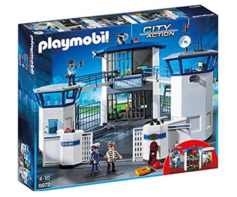 [Prime] PLAYMOBIL 6872 - Polizei-Kommandozentrale mit Gefängnis