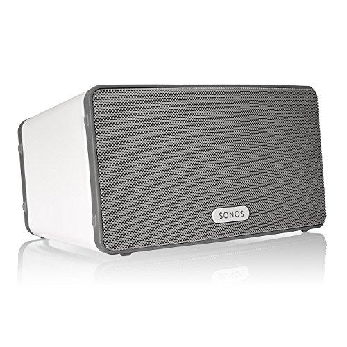 Sonos PLAY:3 WLAN-Speaker für Musikstreaming (Weiß & Schwarz)