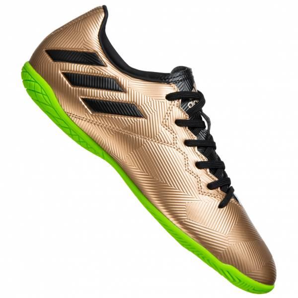 adidas Messi 16.4 Indoor Herren Fußballschuhe in gold bis Gr. 46