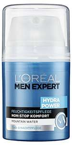 [Amazon prime only Tagesangebot] L'Oreal Men Expert Hydra Power Feuchtigkeitspflege, Tag- und Nachtpflege für Männer, 50 ml