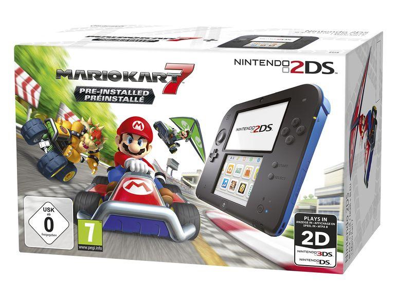 Nintendo 2DS + Mario Kart 7 für 64,94€ inkl. Versand (Lidl)