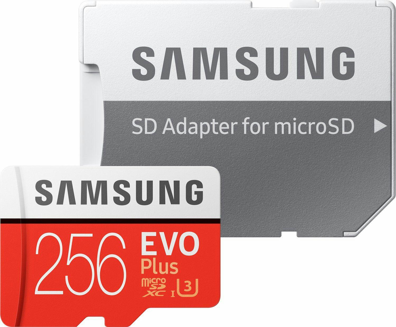 Samsung EVO Plus MicroSDXC - 256 GB, U3, bis zu 100 MB/s für 64.89€ inkl. Prime (Amazon.it-Prime)