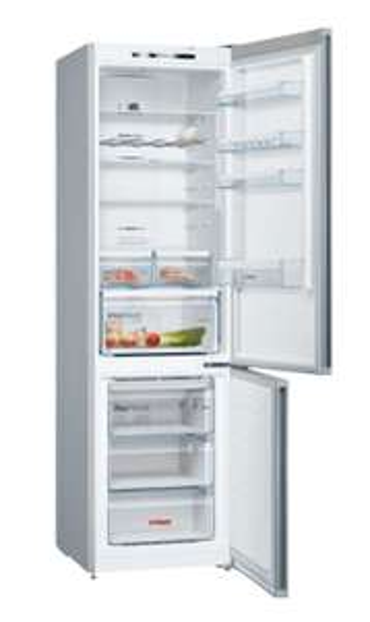 BOSCH KGN39VI4C Kühlgefrierkombination (No Frost, A+++, 182 kWh/Jahr, 2030 mm hoch, 366 ltr., Edelstahl, Standgerät)