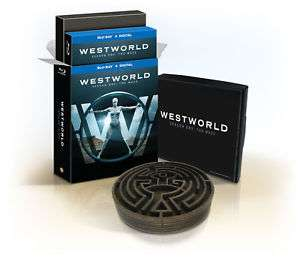 Westworld Staffel 1: Das Labyrinth als Ultimate Collector's Edition mit Digibook und Labyrinth Sammlerstück (Limited Edition) (Blu-ray) für 30,44€ (eBay)