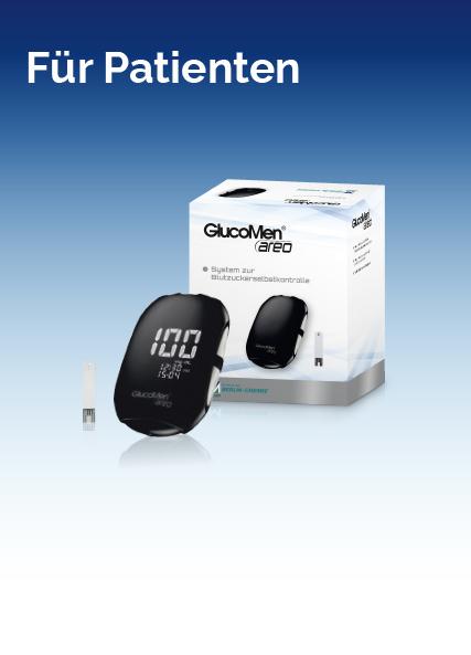 Gluco Men aero Blutzuckermessgerät kostenlos testen !