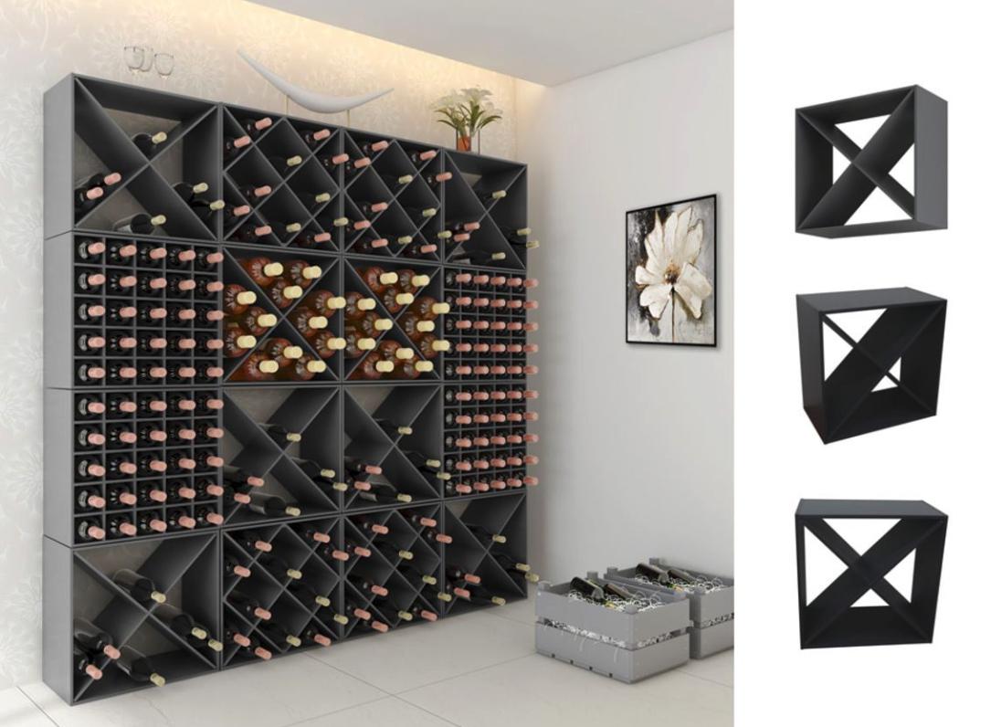 Weinregale 50x30x50 cm für 15,12€ bzw. 18,12€