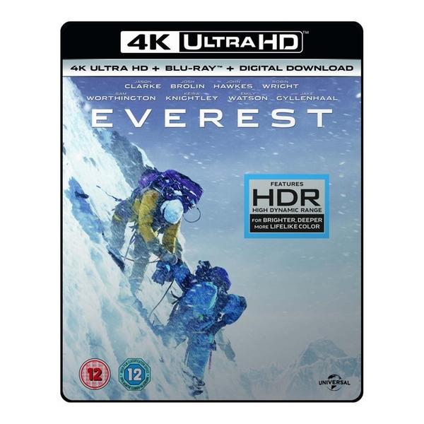 Everest (4K UHD + Blu-ray + UV Copy) für 9,58€ (Shop4de)